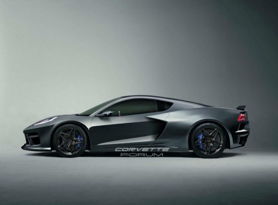 C8 Corvette Mid Engine Render Side
