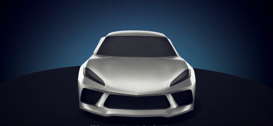 Mid-Engine Corvette Front