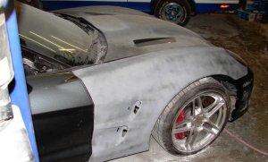 Corvette ZR1 Fender Sanded