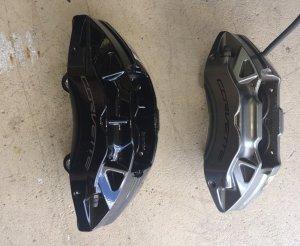 C7 Corrvette Z51 Brake Comparison Calipers