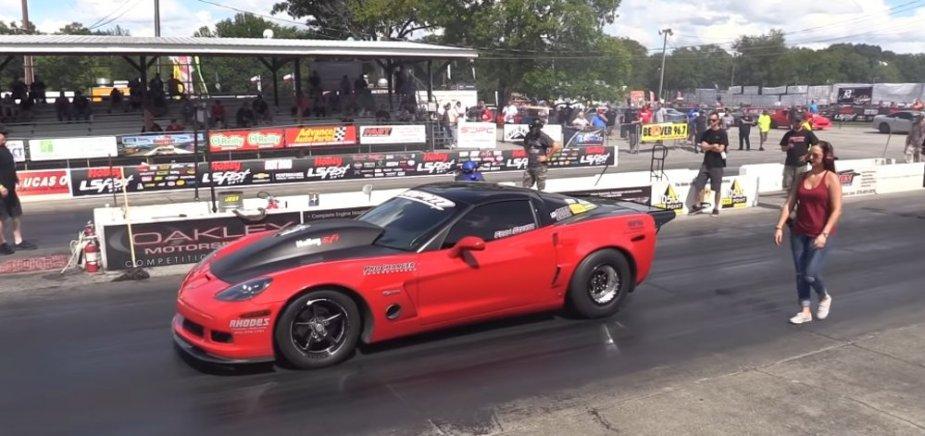 Schatz Corvette Z06 Staging