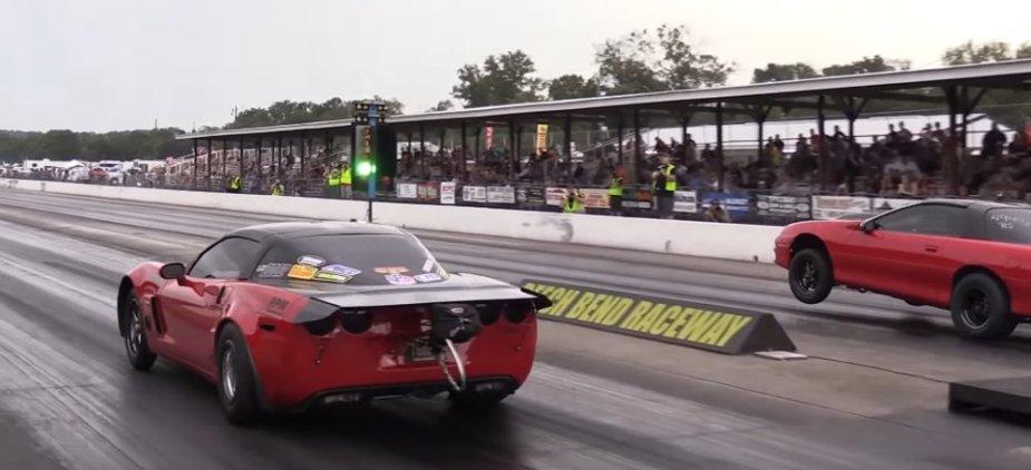 Corvette Vs Camaro Wheels Up