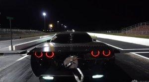 Twin Turbo Corvette Rear Launch