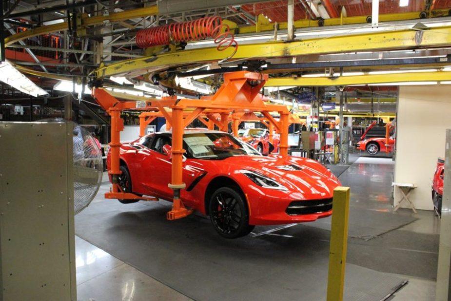 C7 Corvette Production