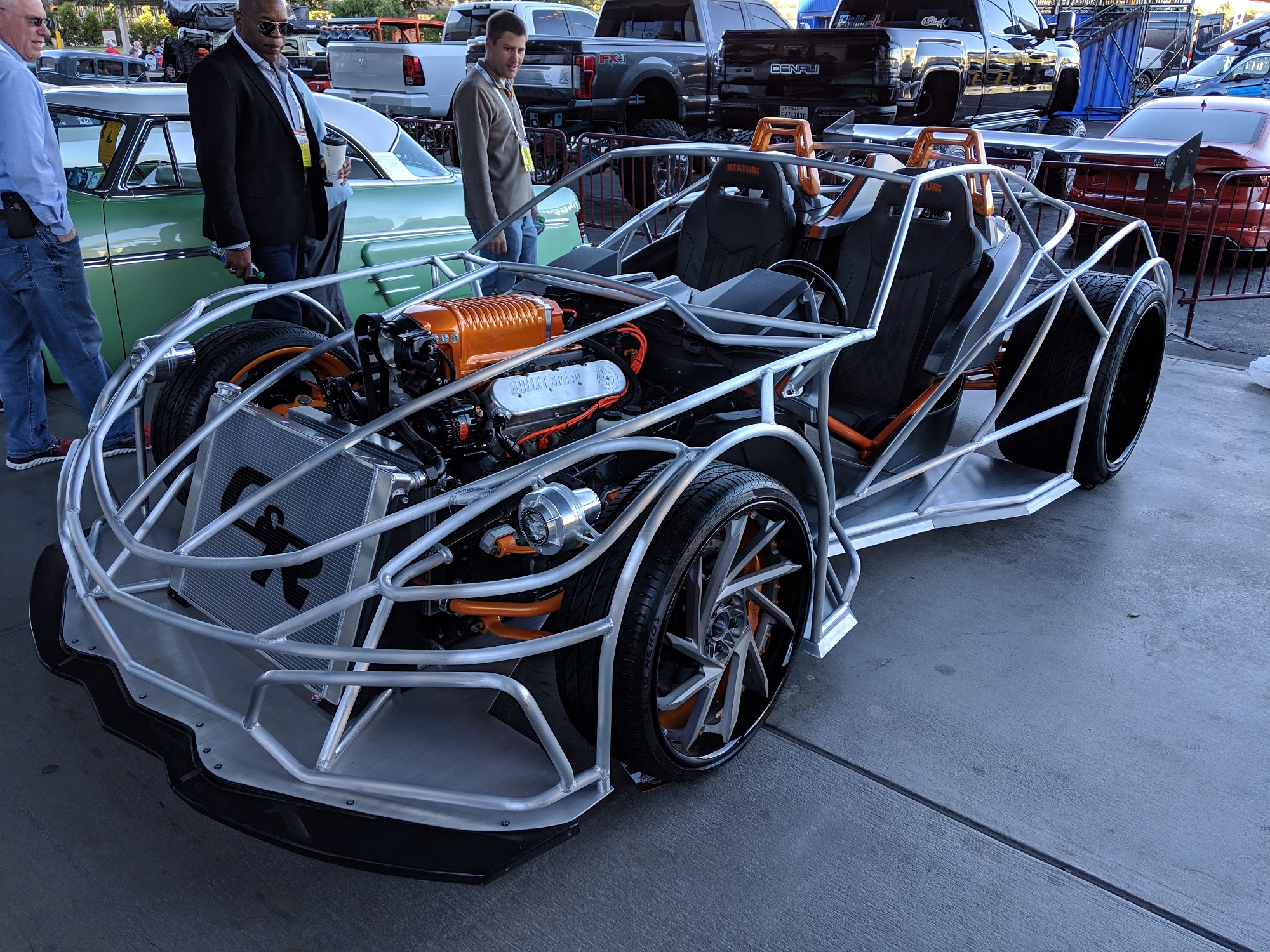 Polaris Sling-Ray Corvette ZR1 Slingshot SEMA 2018 CorvetteForum.com