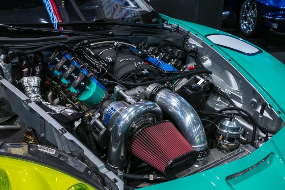Matt Field C6 Corvette SEMA 2018