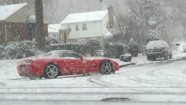 Corvette Winter Driving