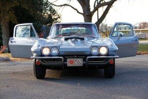 1967 Corvette All Opened Up