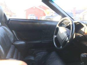 1993 Corvette Interior