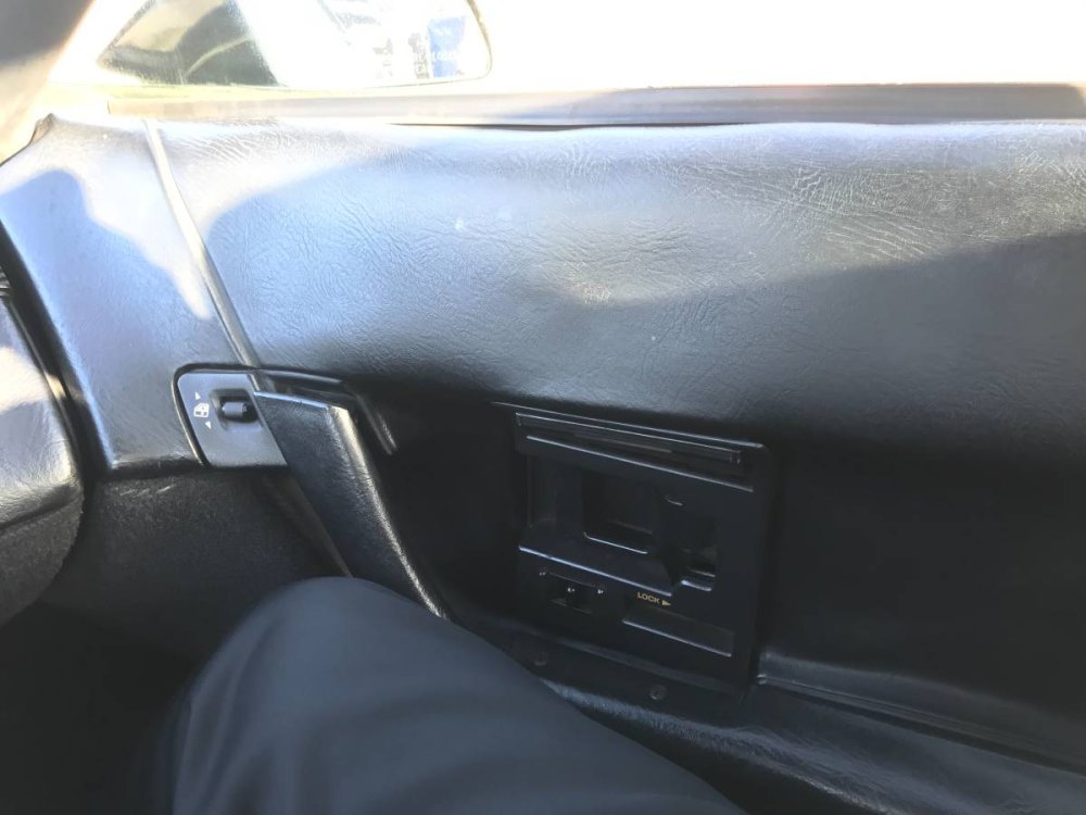 1993 Corvette Bad Door Panel