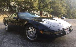 1993 Corvette Passenger Side Front