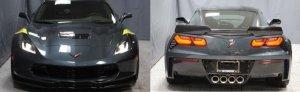 2019 Corvette Grand Sport Front and Rear