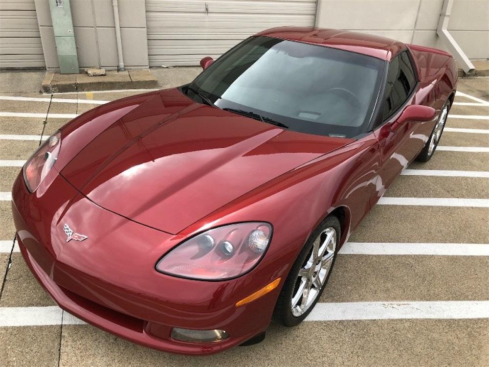 535 horsepower sleeper Corvette.