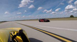Ford GT vs Corvette ZR1