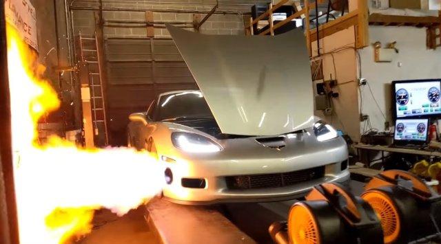 C6 Corvette Z06 Dyno Explosion