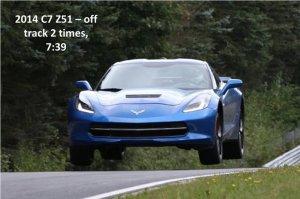 Mero Corvette Lap Time