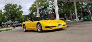 Supercharged C5 Corvette