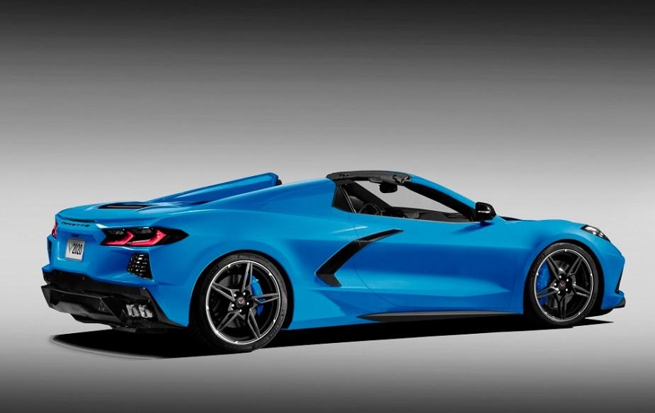 Car Trunk Storage >> C8 Chevrolet Corvette Stingray Convertible Rendered