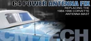19841996 Corvette Antenna Mast Repair   Corvette Magazine