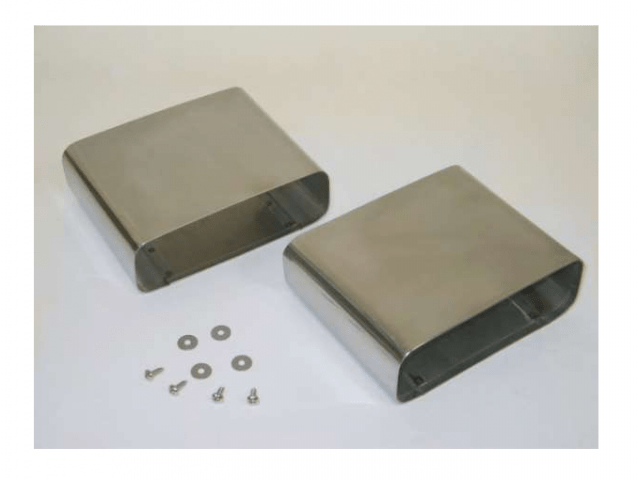 exhaust tips stainless steel lt1 style pair 92 96