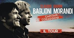 Claudio Baglioni Gianni Morandi Assago 8 e 9 Aprile