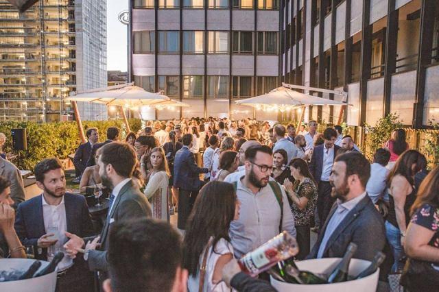 Terrazza Moser Hilton Hotel   Milano Arch Week 2018