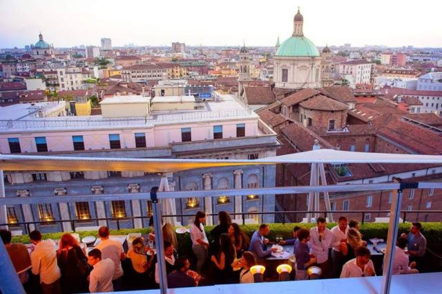 Rooftop Cocktail Party by Ca' del Bosco