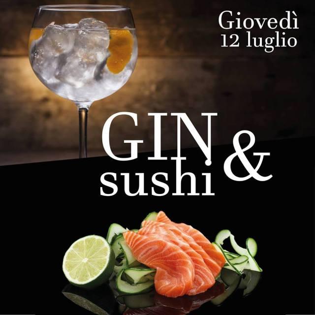 Degustazione di Gin & Sushi