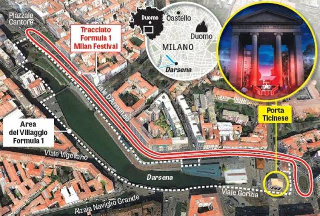 F1 Milan Festival conquista il cuore della città in Darsena