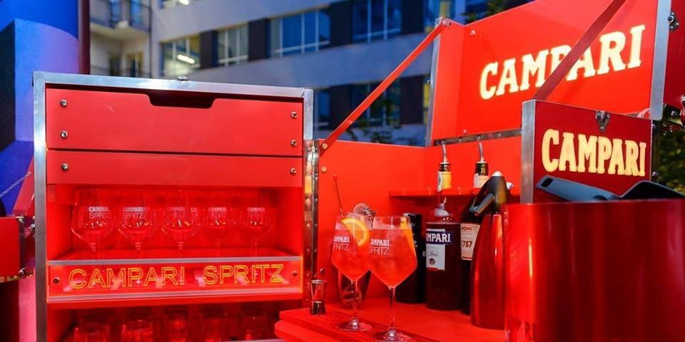 CFM / Campari Red Party in HOTEL Nyx