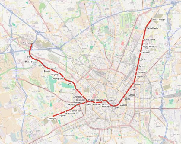 Milano Metro M1