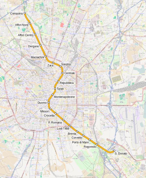 Milano Metro M3
