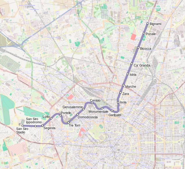 Milano Metro M5
