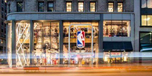 Inaugurazione Nba Store Milano