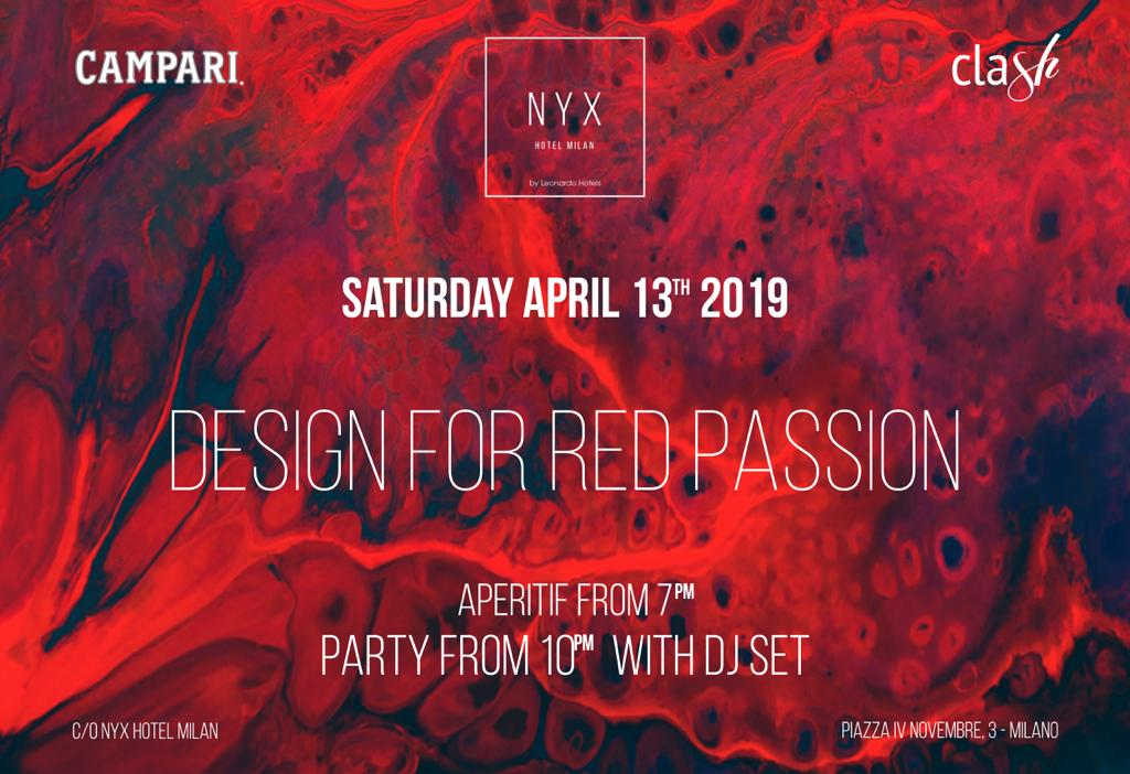 CFM / Fuorisalone 2019: Hotel Nyx Cocktail party