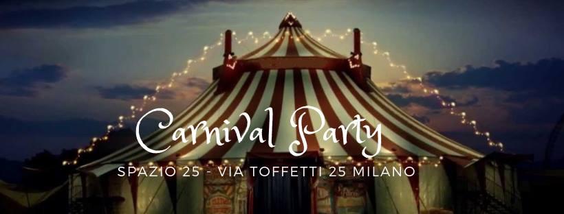 CFM / Carnival Party / Ingresso Omaggio Entro le 12