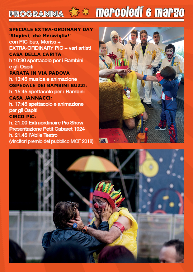 Milano Clow Festival 6 Marzo