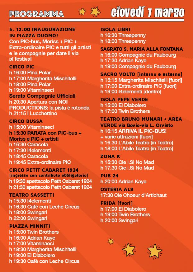 Milano Clow Festival 7 Marzo