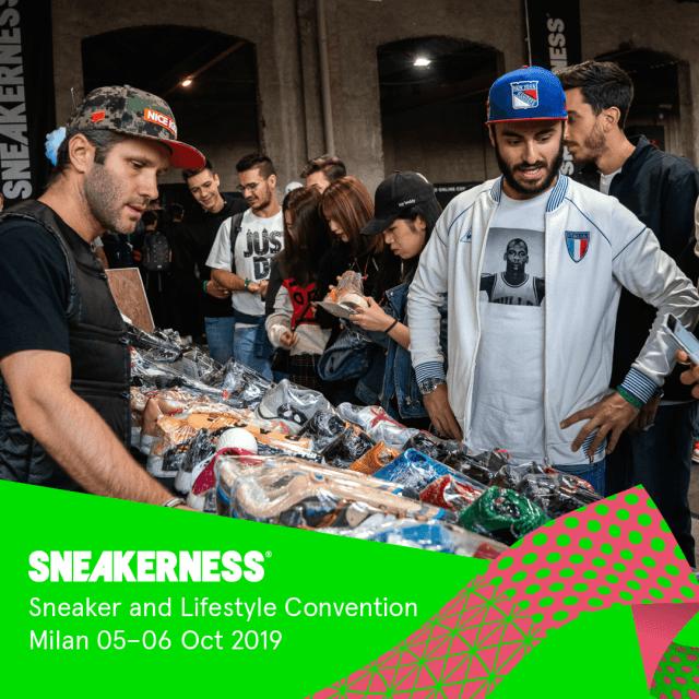 Arriva in Italia la seconda edizione di SNEAKERNESS