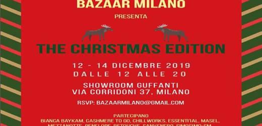 Bazaar Milano Christmas Edition 2019
