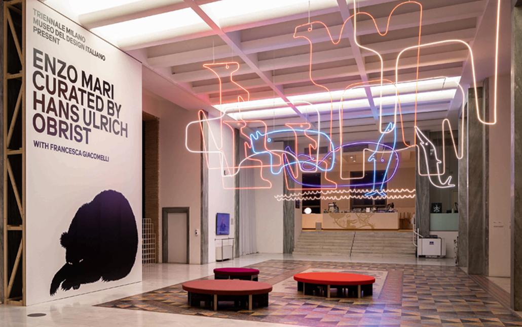 Enzo Mari in mostra alla Triennale di Milano