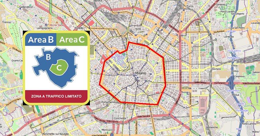A Milano tornano Area B e Area C: via libera anche alle strisce blu