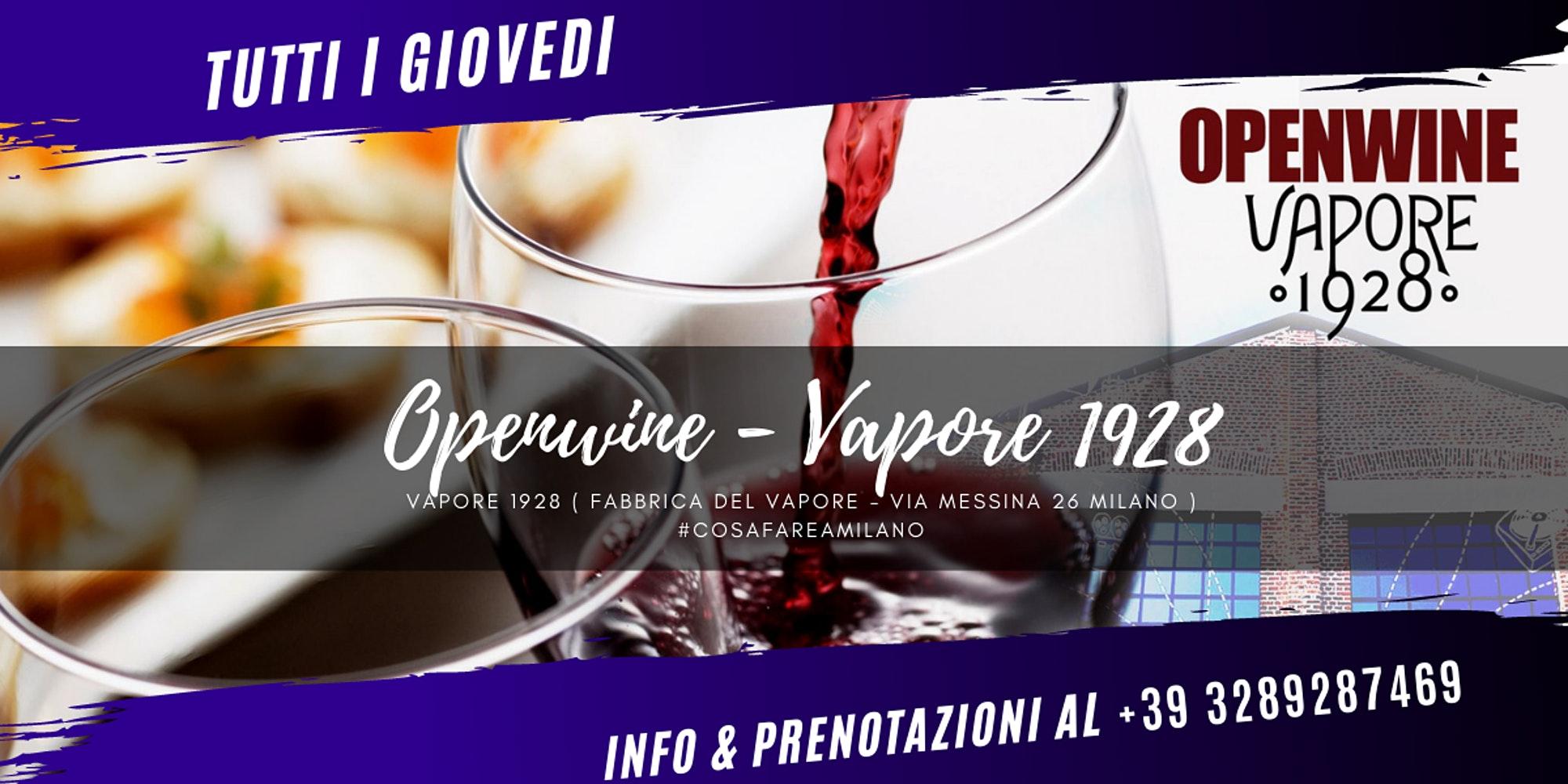 VAPORE 1928 - OpenWine