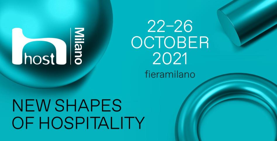 La 42 edizione diHostsi terrà aFiera Milano Rho dal 22 al 26 ottobre 2021.