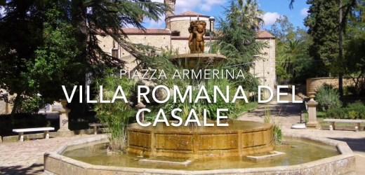Area archeologica della Villa Romana del Casale a Piazza Armerina