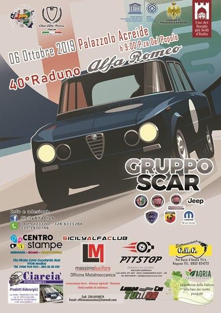Alfa Romeo sceglie Palazzolo Acreide per il suo 40°raduno