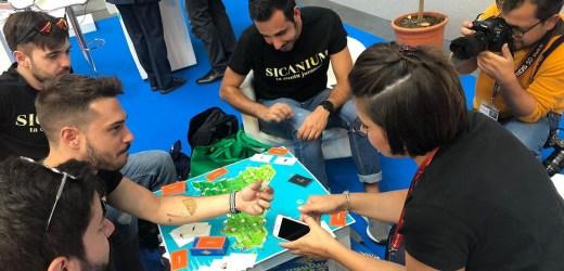 Sicanium il gioco da tavolo per scoprire la Sicilia