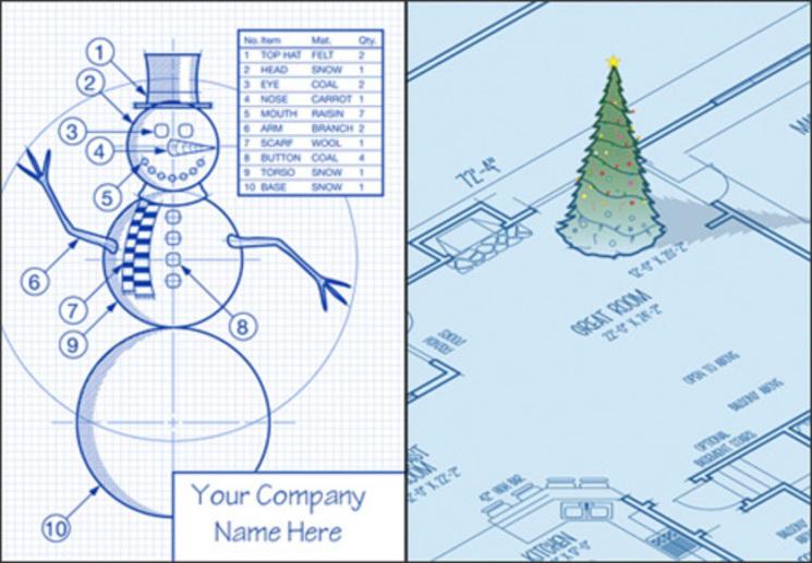 Tarjetas De Navidad Para Arquitectos COSAS De ARQUITECTOS