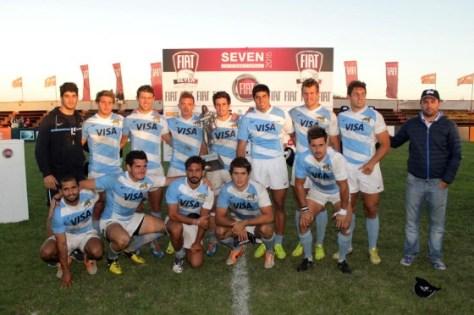 Pumas 7 se consagró campeón del Fiat Seven MDQ 2015