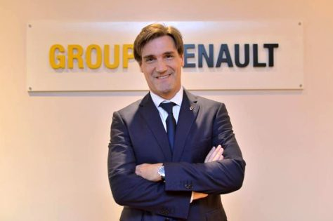 Hernán Bardi de Renault Argentina